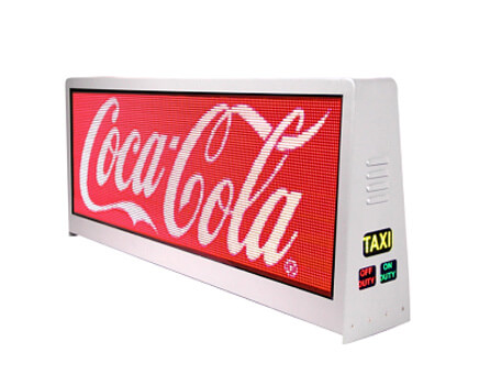 Pantalla LED  de Taxi Superior